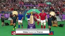 Highlights : Quarter-Finals - Wales v France