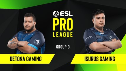 CS-GO - Detona Gaming vs. Isurus Gaming [Train] Map 1 - Group D - ESL NA Pro League Season 10