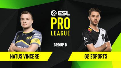 CS-GO - G2 Esports vs. Natus Vincere [Mirage] Map 2 - Group D - ESL EU Pro League Season 10
