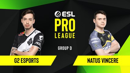 CS-GO - G2 Esports vs. Natus Vincere [Overpass] Map 1 - Group D - ESL EU Pro League Season 10