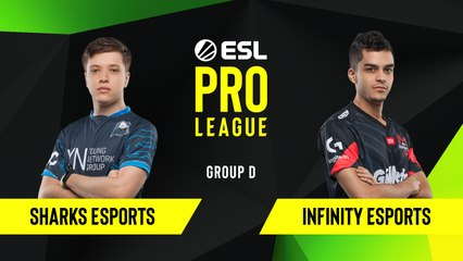CS-GO - Infinity Esports vs. Sharks Esports [Overpass] Map 2 - Group D - ESL NA Pro League Season 10