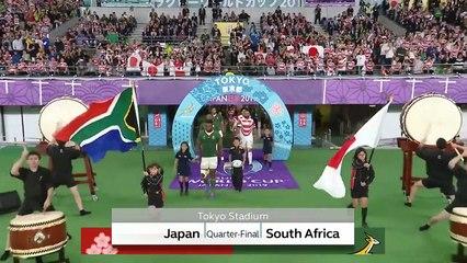 Highlights: Quarter-Finals - Japan v South Africa