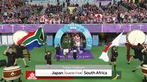 Highlights: Quarter-Finals - Japan v South Africa
