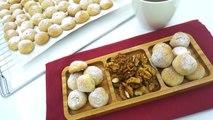 Cevizli lokmalık kurabiye tarifi (Fıstık ezmeli) Hatice Mazi ile Yemek Tarifleri