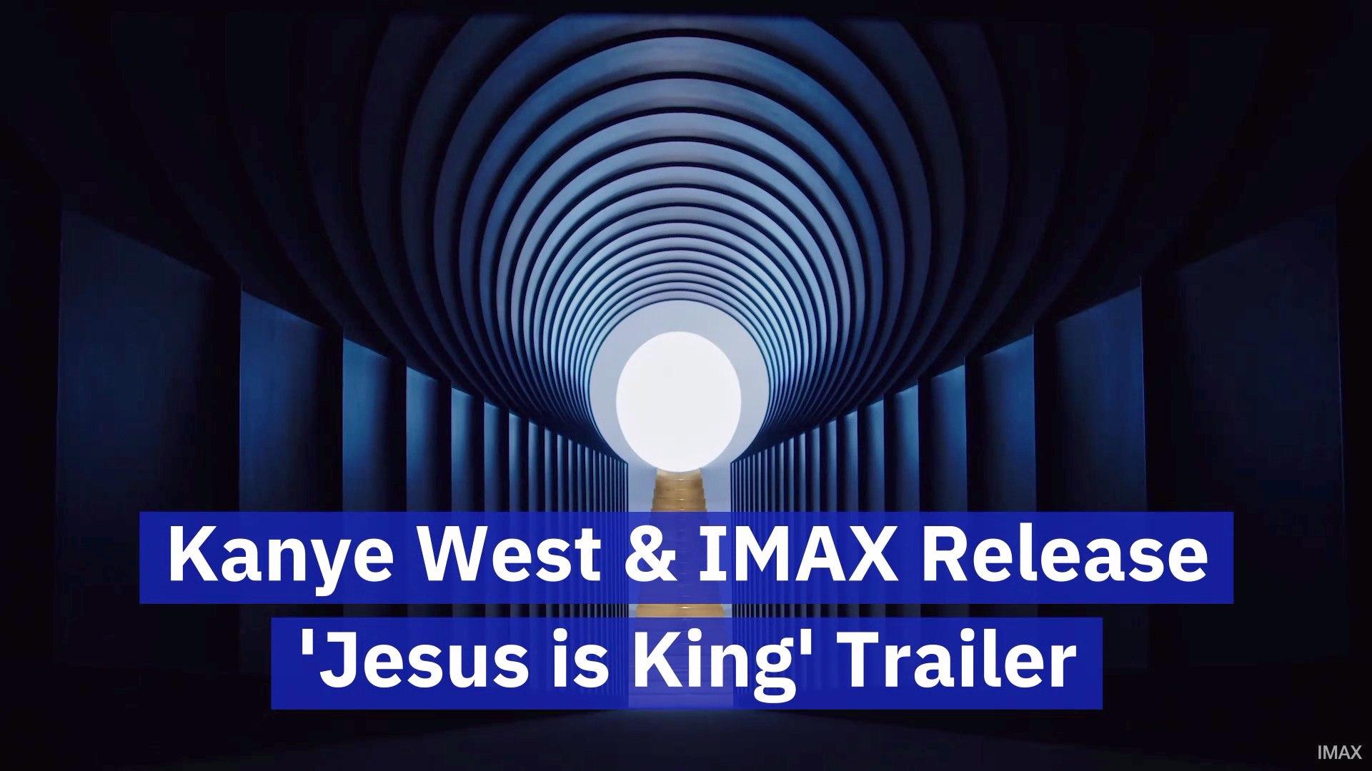 Kanye Brings Jesus Is King To Imax
