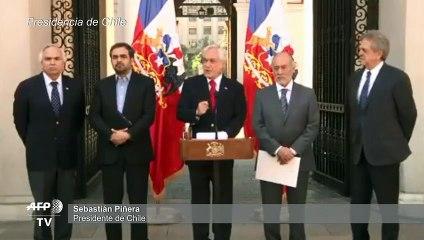 """""""La democracia tiene la obligación de defenderse"""", dice presidente chileno"""