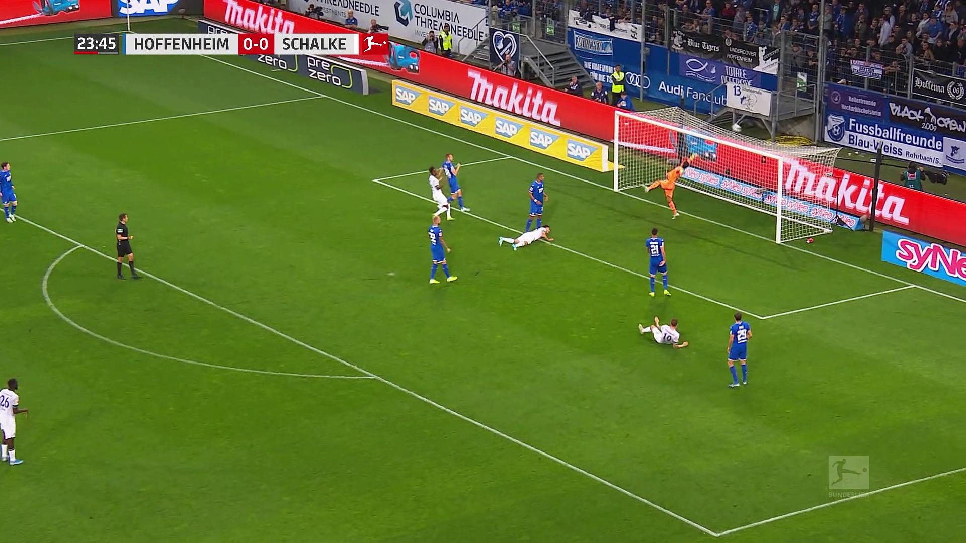 Bundesliga 8.hafta / Hoffenheim - Schalke 04: 2-0 (Özet)