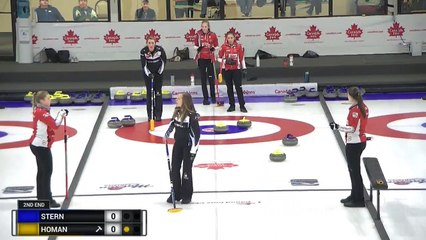 World Curling Tour, Canad Inns Women's Classic 2019 Stern (SUI) vs Homan (CAN)