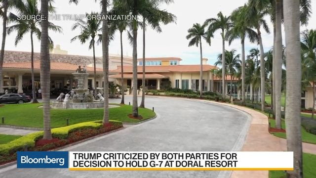 Trump Says His Doral Resort No Longer Considered for G7 Venue