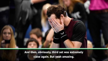 CLEAN: Murray revels in return to winning ways on ATP tour