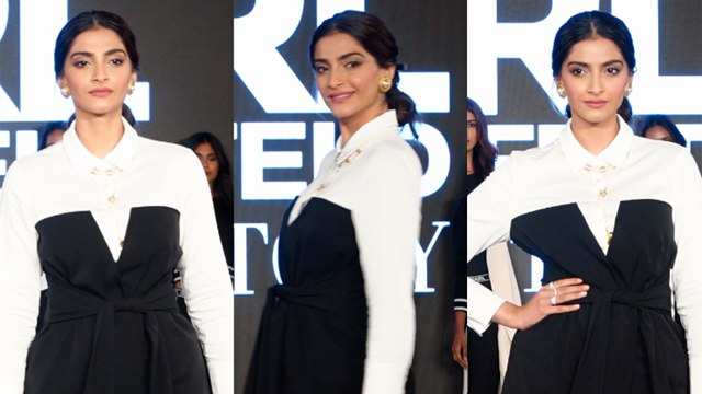 Sonam Kapoor's MOST Fashionable Rampwalk   Karl Lagerfeld's Fashion Show 2019