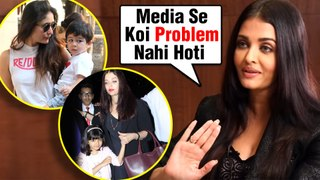 Aishwarya Rai REACTS On PROBLEMS With Aaradhya, Taimur Getting Media Attention