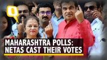 Maharashtra Polls: Nitin Gadkari, Ajit Pawar, Supriya Sule, Mohan Bhagwat and Others Cast Their Votes