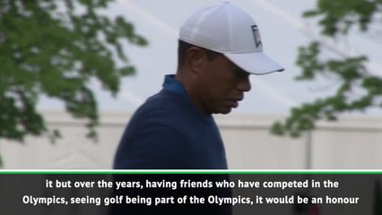 Woods keen to play for USA at Olympic games