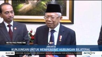 Usai Dilantik, Ma'ruf Amin Terima Kunjungan Kehormatan Wakil Negara Sahabat