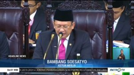 Angka Kemiskinan RI Turun, Bamsoet Apresiasi Kinerja Jokowi