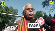 Congress Already Lost, Left the Battleground: CM Khattar After Casting Vote