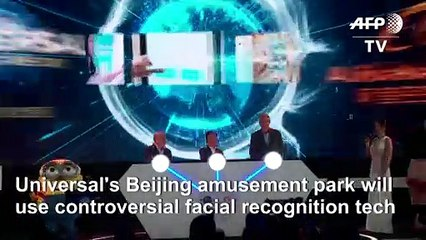 China's Universal Studios park to feature facial recognition tech