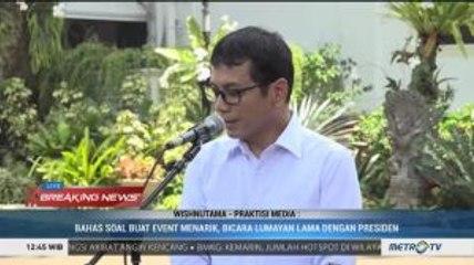 Wishnutama Diminta Jokowi Kembangkan Industri Kreatif