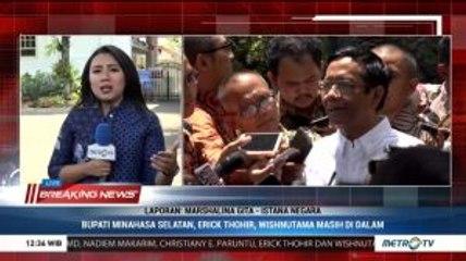 Jokowi Berbincang dengan Tiga Kandidat Calon Menterinya
