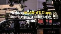 Mexique : le cartel d'El Chapo sème le chaos, la police bat en retraite