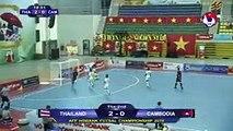 Highlights | Thái Lan - Campuchia | AFF HDBank Futsal Championship 2019 | VFF Channel