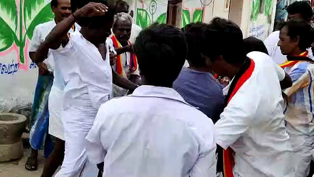 Clash between DMDK and PMK Party