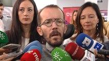 """Echenique:""""Para reconducir Cataluña Podemos debe entrar en gobierno"""""""