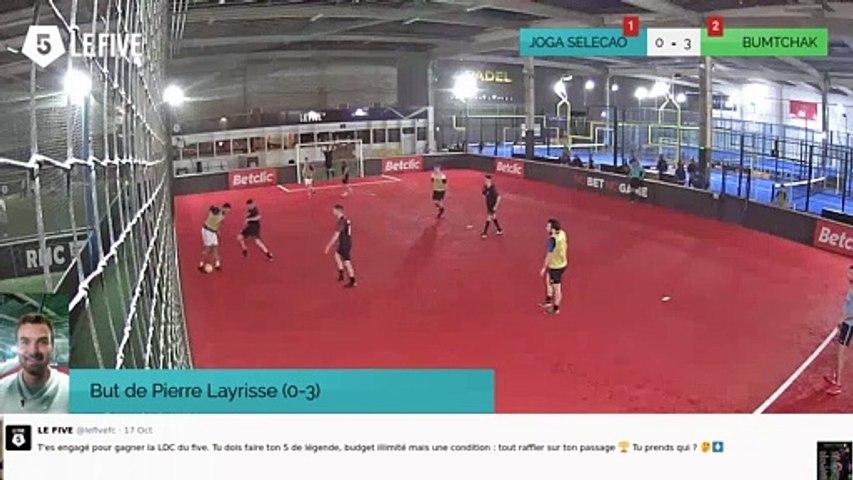 But de Pierre Layrisse (0-3)