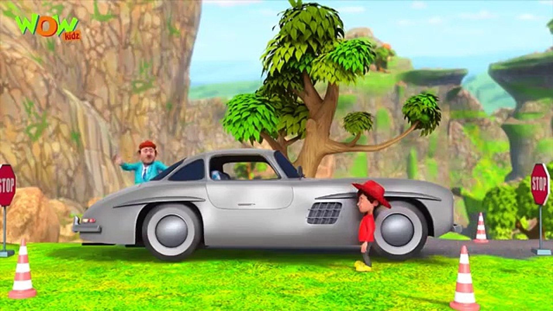 New Cartoon Show Chacha Bhatija Hindi Cartoons For Kids  Car Kare Chamatkar