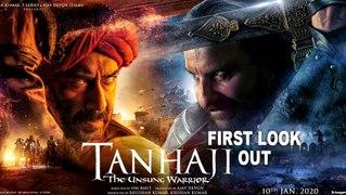 'Tanhaji: The Unsung Warrior'  Ajay Devgn, Saif Ali Khan   First Look revealed