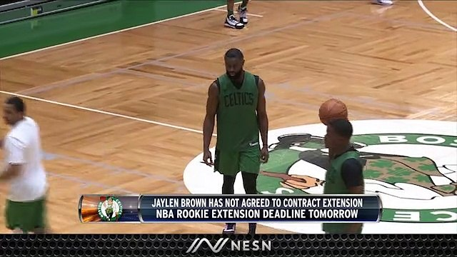 Jaylen Brown Contract Situation Still Uncertain As Deadline Approaches