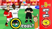 LOLs | The shocking truth behind the controversial VAR decisions during Man Utd 1-1 Liverpool