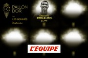 De Cristiano Ronaldo à Benzema, les nommés de 11 à 15 - Foot - Ballon d'Or France Football 2019