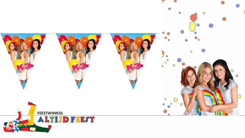 K3 verjaardag vieren? Feestwinkel Altijd Feest