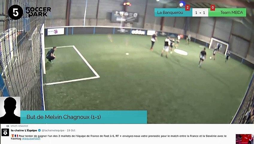 But de Melvin Chagnoux (1-1)