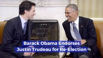 President Obama Vouches For Justin Trudeau