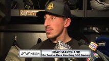 Brad Marchand On Tuukka Rask Playing In 500 Career Games