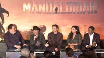 'The Mandalorian' Celebrity Panel