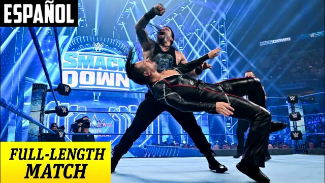 WWE SmackDown: Shinsuke Nakamura vs. Roman Reigns – Campeonato Intercontinental | Español Latino HD