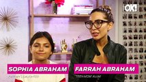 Farrah Abraham Knows That & Sophia's Late Dad Derek 'Watches Over' Them Everyday
