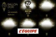 De Salah à Marquinhos, les nommés de 26 à 30 - Foot - Ballon d'Or France Football 2019