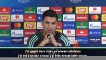 Ballon d'Or - Ronaldo : ''Les récompenses individuelles passent au second plan''