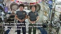 Prochain rêve pour les femmes astronautes de l'ISS: marcher sur la Lune