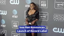 Issa Rae Gets Into The Music Business