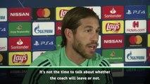 Ramos backs Zidane despite poor Madrid form