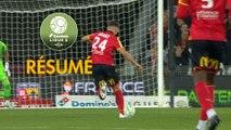 RC Lens - AJ Auxerre (0-0)  - Résumé - (RCL-AJA) / 2019-20