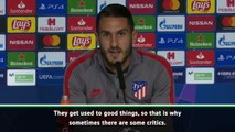 Koke bats away criticism of Atletico Madrid