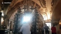Czech Republic's Sedlec Ossuary is now banning selfies