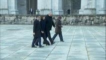 Representantes del Gobierno llegan al Valle de los Caídos
